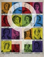 Elles. Femmes et création. Cycle d'introduction aux Fêtes nocturnes 2012, château de Grignan