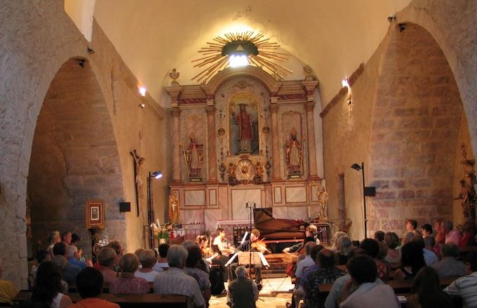 L'église de Catllar