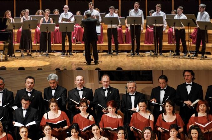 Rencontre Polyphonique France & Turquie au Festival Musiques Sacrées et Musiques du Monde de l'Abbaye de Sylvanès le 4 août '19