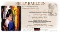 Exposition Mémoire d'Orient de Nelly Kahloun au MUSEAAV, Nice, du 19 janvier au 11 février 2012