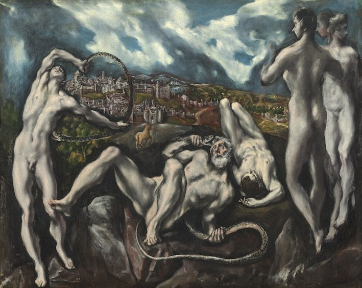 El Greco, Laocoön, 1610/14, oil on canvas, 137.5 x 172.5 cm, National Gallery of Art, Washington, Samuel H. Kress Collection 1946.18.1