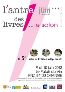 L'antre des livres, les 9 et 10 juin 2012 à Orange