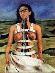 Frida Kahlo, autoportrait