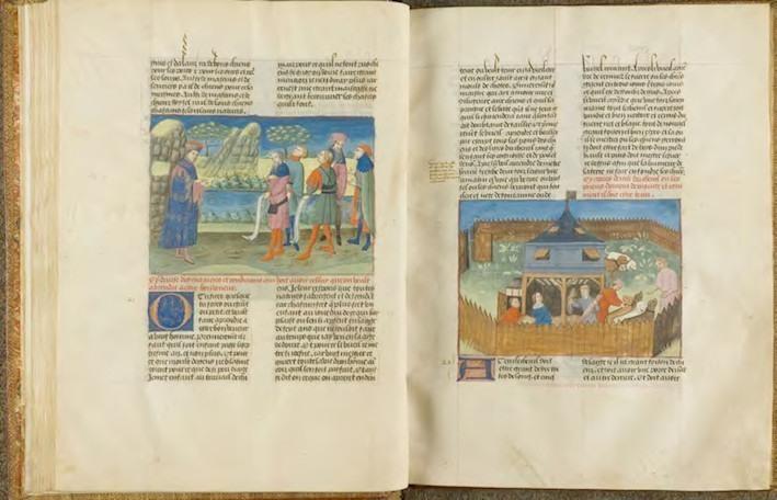 Le livre de la chasce que fist le comte Phébus de Foys et seigneur de Béarn, ms. 367 : © IRHT, Bibliothèque et archives du château de Chantilly