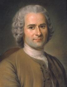 Maurice Quentin de La Tour.  Portrait de Jean-Jacques Rousseau Pastel sur papier gris marouflé sur toile  monté sur un chassis fixe 46,5 x 38 cm  © Centre d'iconographie genevoise, Ville de Genève