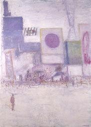 Truphémus. Osaka (Dotombori), 1971/2005, huile sur toile, 146x103,5 cm, donation Muguette et Paul Dini au musée Paul-Dini (Villefranchesur-Saône), photo Didier Michalet
