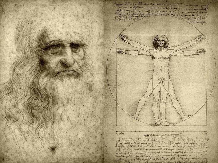 Une visite guidée de l'exposition Leonard da Vinci présentée à la National Gallery de Londres au cinéma Gaumont d'Archamps, Paris, le 16 février 2012 à 20h