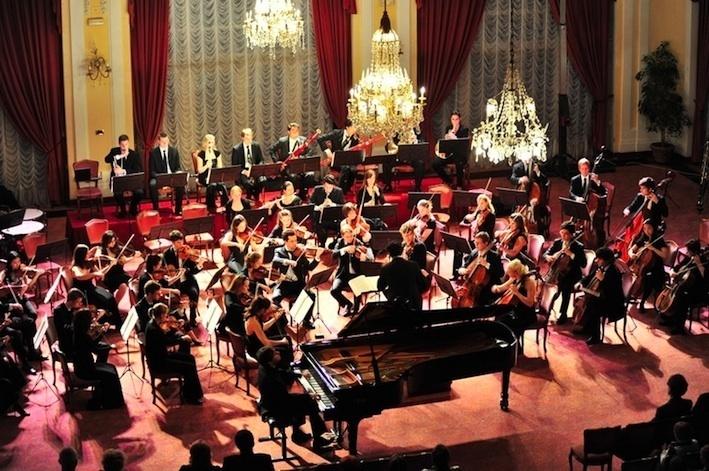 Concert dans le Crystal Hall de l'hôtel Kvarner © Croatia Org