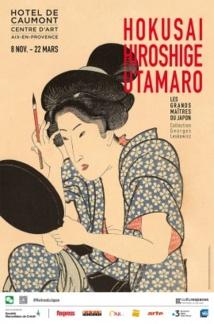 Aix en Provence. Hokusai, Hiroshige, Utamaro... Les grands maîtres du Japon, la Collection Georges Leskowizc du 8 novembre 2019 au 22 mars 2020, Hôtel de Caumont - Centre d'Art