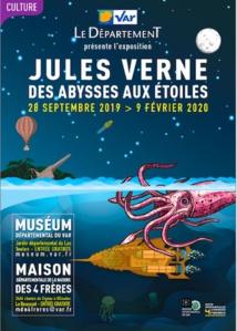 « Jules Verne: des abysses aux étoiles », expositions au Muséum départemental du Var et la Maison départementale de la Nature des 4 Frères, jusqu'au 9 février 2020