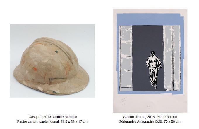 Claude et Pierre Buraglio, « A l'épreuve »,  Galerie Univer, Paris, du 9 octobre au 8 novembre 2019