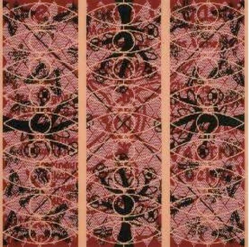 L'origine du monde de G. Courbet revisitée dans l'exposition de J-P Sergent, « Nature, cultures, l'Origine des mondes » à la Ferme Courbet (Flagey, Doubs) du 1er mars au 3 juin 2012
