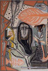 Gérard Drouillet, Sans titre, 1999 Tempera sur toile, 300 x 200 cm Collection particulière