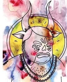 « Paganisme », exposition de Kashinl, Galerie Ligne 13, Paris, du 6 au 31 mars