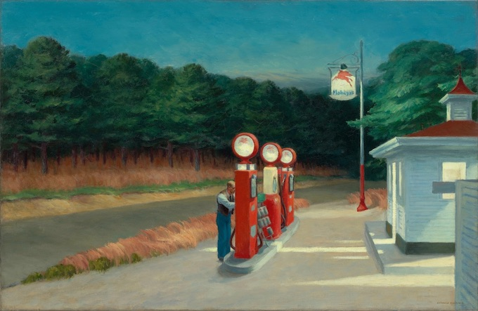 Edward Hopper, Gas, 1940, Huile sur toile, Museum of Modern Art, New York, Mrs. Simon Guggenheim Fund © Heirs of Josephine Hopper / 2019