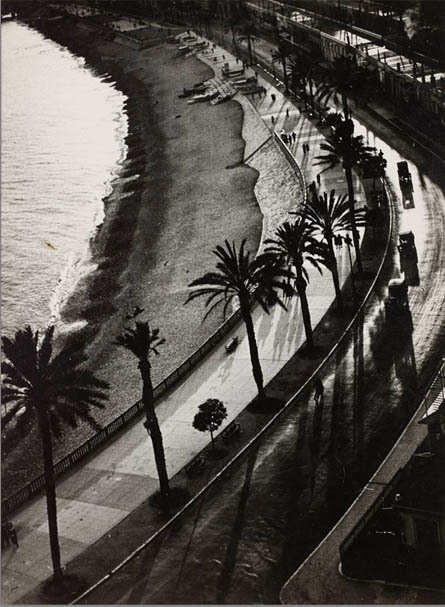 Brassaï, Nice, Quai des Etats-Unis, sans date © Estate Brassaï - RMN