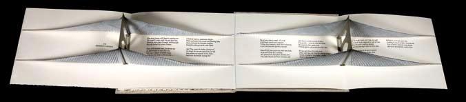 Ronald Keller,Three Poems from The Bridge New York, Red Angel Press, 2004, collection Robert Ruben.