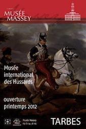 Inauguration du Musée International des Hussards de Tarbes le samedi 3 mars 2012, en présence de Frédéric Mitterand