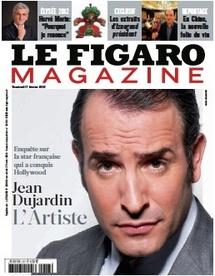 Jean Dujardin, l'artiste, par Jean-Marc Parisis, dans le Figaro Magazine du 17 janvier 2012