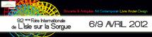 Pôle Livre Ancien - 92e Foire Internationale de L'Isle Sur la Sorgue du 6 au 9 Avril 2012