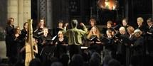 Voix des anges, Choeur d'Auvergne et harpe, Collégiale de Grignan (26), le 21 avril 2012