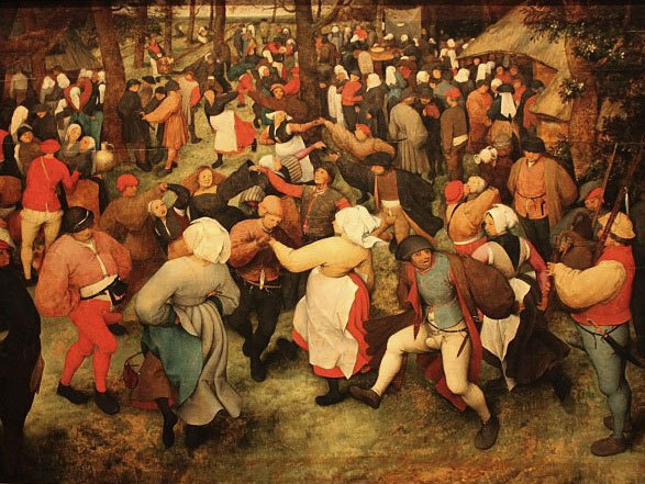 "Pieter Bruegel : ""La Danse de la Mariée"""