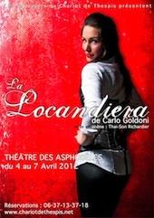 La Locandiera, Carlo Goldoni, une comédie décalée, dynamique et drôle ! au théâtre des Asphodèles, Lyon, du 4 au 7 avril 2012