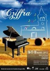19ème Festival Georges Cziffra à Unieux (42), du 16 au 18 mars 2012