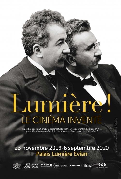 Exposition Lumière ! Le cinéma inventé, à Evian du 23 novembre 2019 au 6 septembre 2020