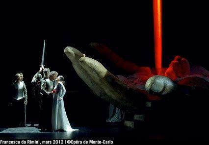Francesca da Rimini de Zandonai en création à l'opéra de Monte-Carlo
