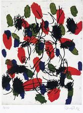 Georg Baselitz, Sans titre, 1992, aquatinte et eau-forte, 76 x 57 cm