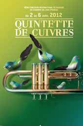 8ème concours international de musique de chambre de Lyon (CIMCL), quintette de cuivres, du 2 au 6 avril 2012