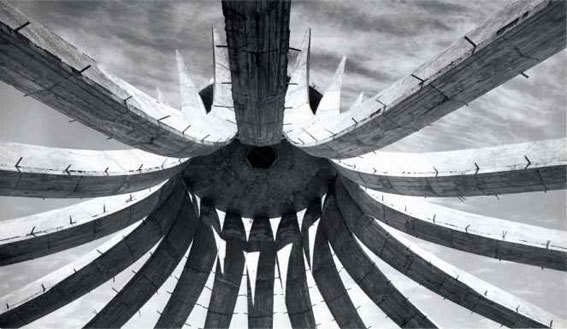 Lucien Hervé, Cathédrale de Brasilia, 1961.