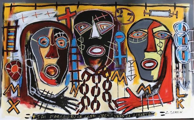 Claude Serrile, valeur sûre de l'art brut