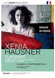 Xenia Hausner, Flagrant délit au Musée Würth France Erstein, du 23 mars au 2 septembre 2012