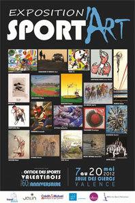 Sport'Art, exposition sur le thème du sport et de l'art, salle des Clercs, Valence, du 7 au 20 mai 2012