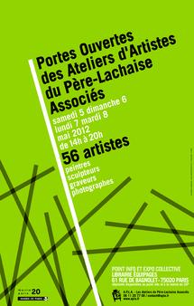 Portes ouvertes d'ateliers d'artistes dans le 20e arrondissement de Paris du 5 au 8 mai 2012