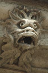 Claude  Gourmanel, Trognes de pierre