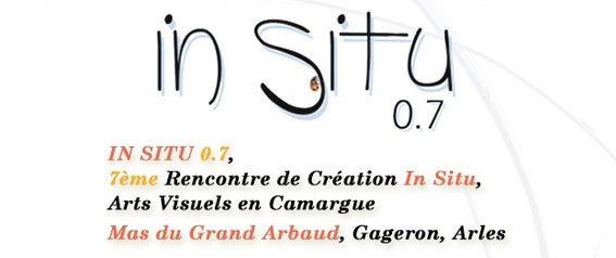 In Situ 0.7, 7ème Rencontre de Création In Situ, Arts Visuels en Camargue 2012