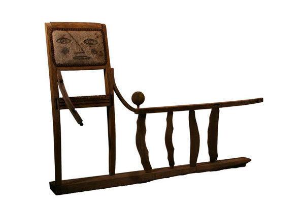 Alain Signori, Qui se ressemble s'assemble, assemblage bois, 90 x 140 x 20 cm
