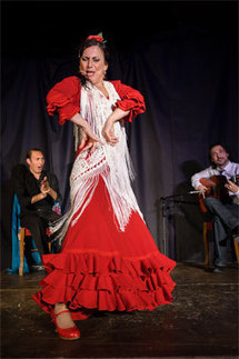 La Lupi ou l'instinct flamenco, Rivesaltes, 21 avril 2012