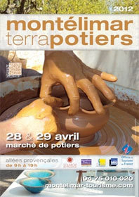 Montélimar-Terra-Potiers, allées provençales, Montélimar, les 2! et 29 avril 2012