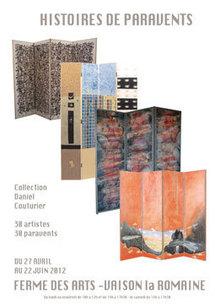 Histoire de paravents. Ma collection idéale, Collection Daniel Couturier, Ferme des Arts, Vaison la Romaine, du 27 avri au 22 juin 2012