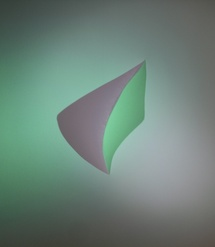 """""""Ombre de couleur""""  de Martine DAMAS, à la Vitrine Régionale d'Art Contemporain, à Millau, du 28 avril au 24 juin"""