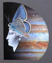 Isabelle Simon, collages, peintures, sculptures, Galerie le Voyageur Imprudent, Nyons, du 12 mai au 6 juin 2012