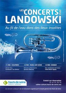 6e edition des Concerts Landowski, parc du Domaine de Sceaux, du 11 au 13 mai 2012