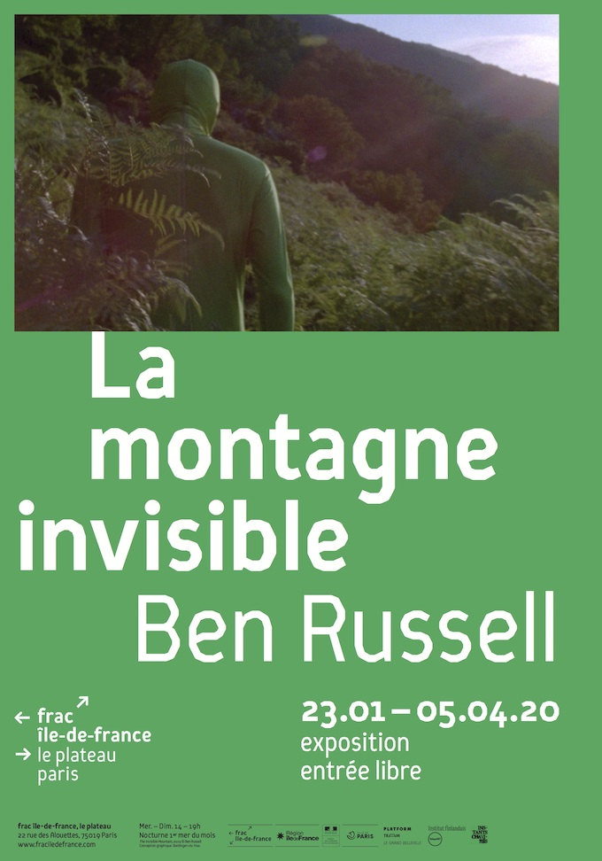 Ben Russell, La Montagne invisible. Frac Ile-De-France, Le Plateau, Paris, du 23 janvier au 5 avril 2020