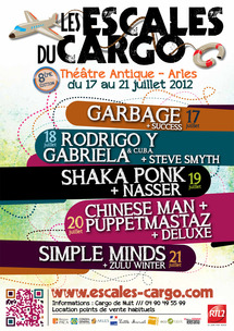 Escales du Cargo, du 17 au 21 juillet 2012 @Arles