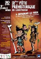 2e Fête Préhistorique en Chartreuse. Le Musée de l'ours des cavernes fête ses 10 ans les 30 juin et 1er juillet 2012