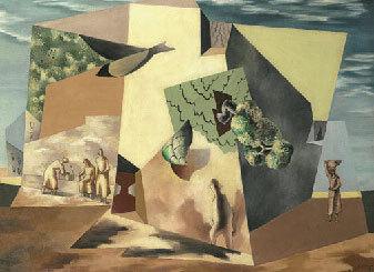 Paysage du Roussillon, 1926, Huile sur toile, 88,9 x 115,6 cm - Collection RDM Fine Art